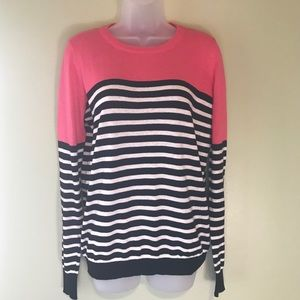 41 Hawthorn Rowson Colorblock Striped Sweater